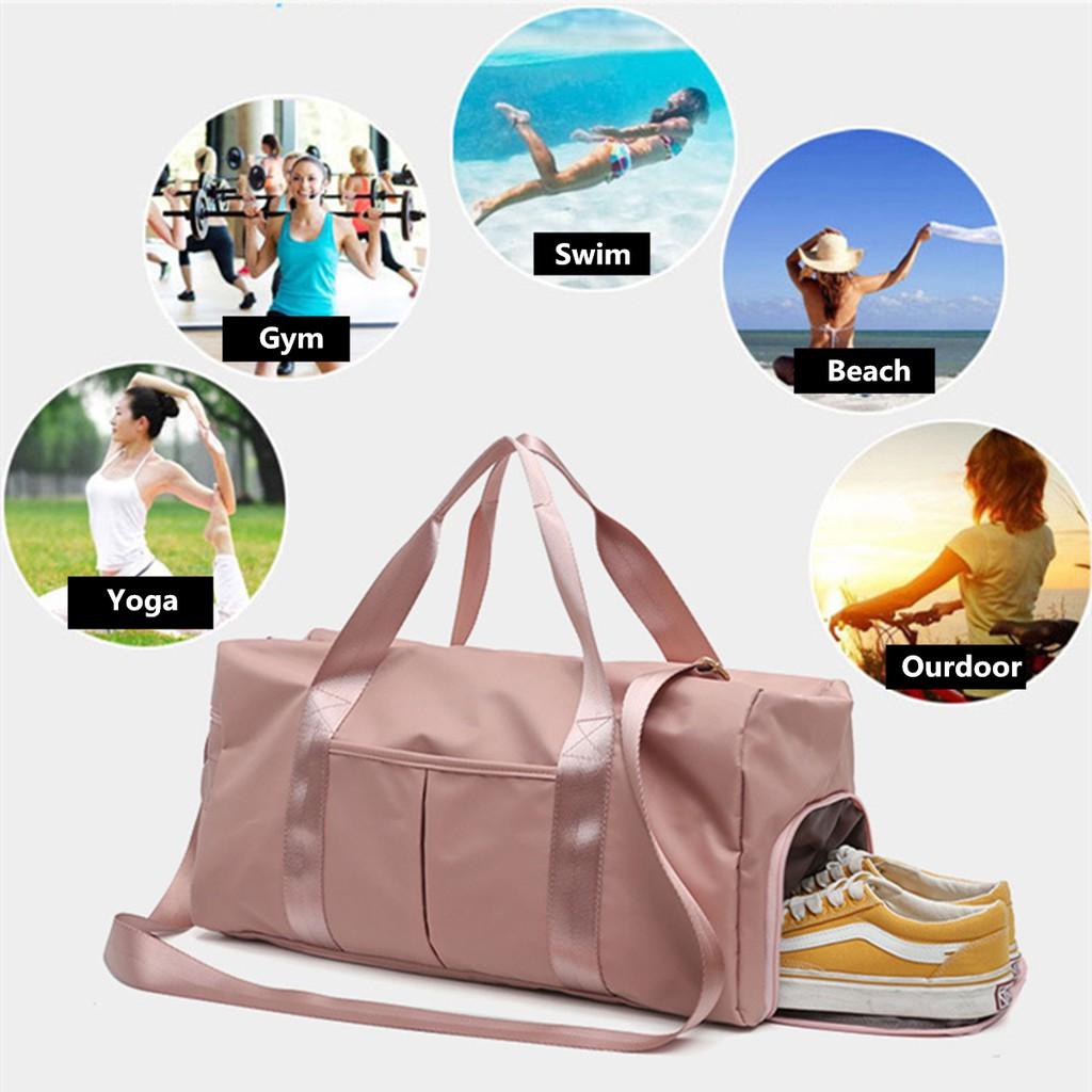 Túi đựng đồ du lịch đa năng size lớn có ngắn chứa giày