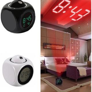 Đồng hồ báo thức có giọng nói Chức Năng Hiển Thị Nhiệt Độ bằng ĐÈN LED