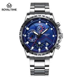 [Tặng vòng tay]Đồng hồ nam NIBOSI chính hãng NI2322.02 thời trang cao cấp