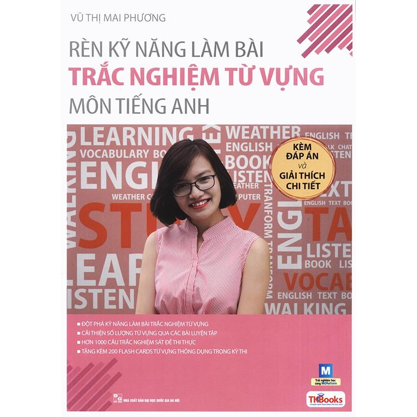Rèn kỹ năng làm bài trắc nghiệm từ vựng môn tiếng Anh - Vũ Thị Mai Phương