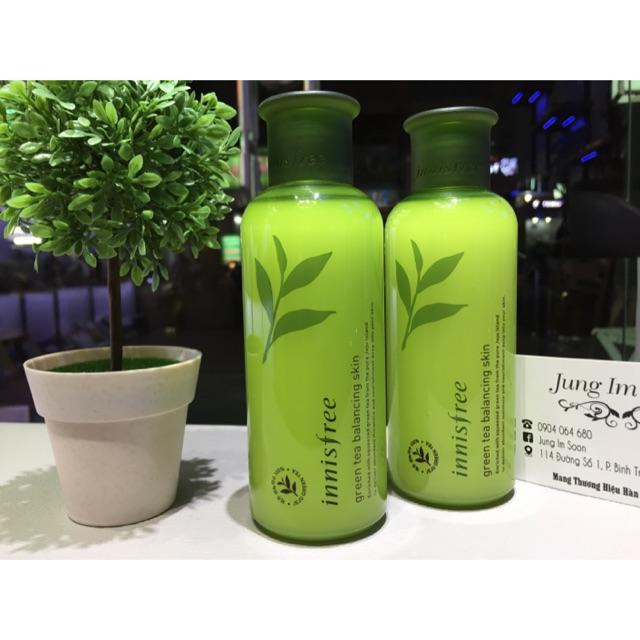 Nước hoa hồng trà xanh Green Tea Balancing Skin Innisfree - 3164345 , 448986430 , 322_448986430 , 300000 , Nuoc-hoa-hong-tra-xanh-Green-Tea-Balancing-Skin-Innisfree-322_448986430 , shopee.vn , Nước hoa hồng trà xanh Green Tea Balancing Skin Innisfree
