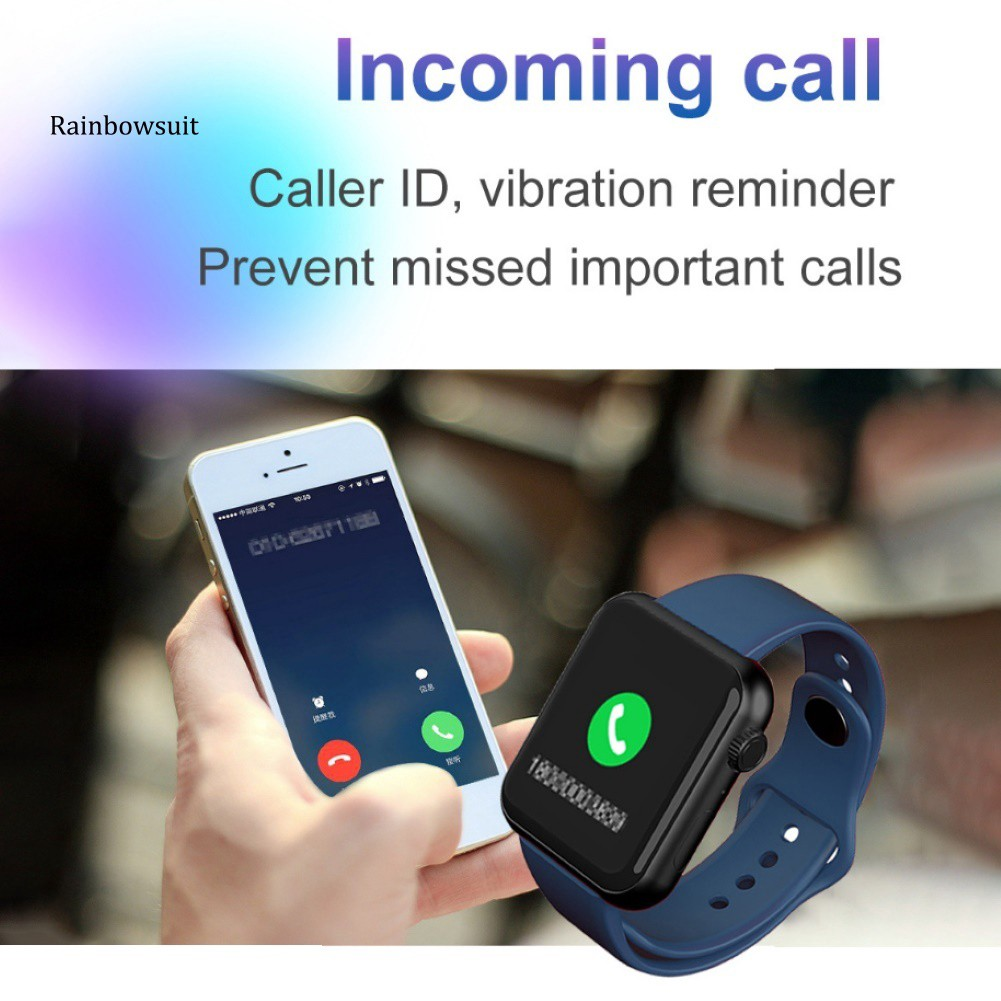 Đồng Hồ Thông Minh V6 Kết Nối Bluetooth Theo Dõi Sức Khỏe