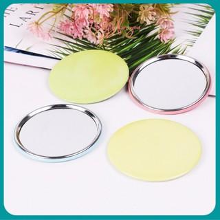 Gương trang điểm mini cầm tay TinTin, bỏ túi cất gọn hình tròn có nhiều họa tiết đáng yêu dành cho các bạn gái thumbnail