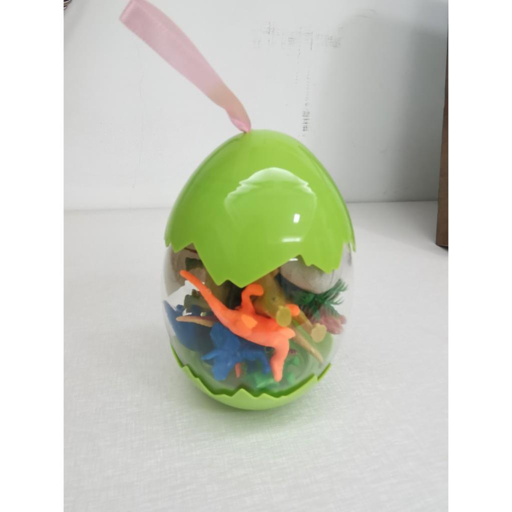 [FREESHIP GIÁ SỐC] Bộ đồ chơi trứng Khủng Long-Mô hình nhựa dẻo-siêu bền-sưu tầm-chơi trong nhà-màu sắc bắt mắt
