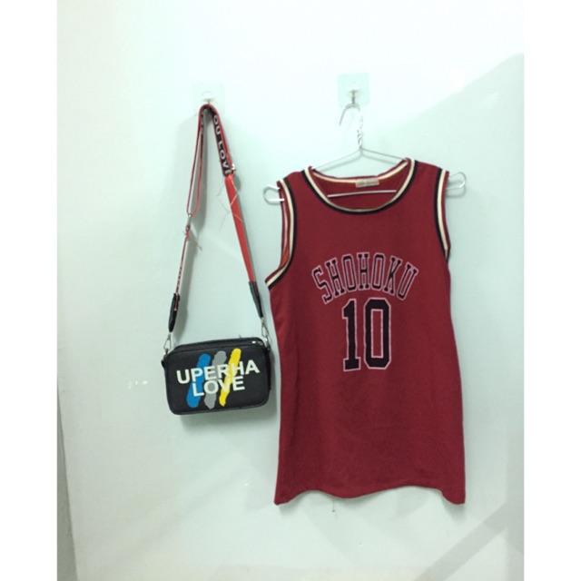 Em thanh lý áo bóng rổ mặt trước sau nha