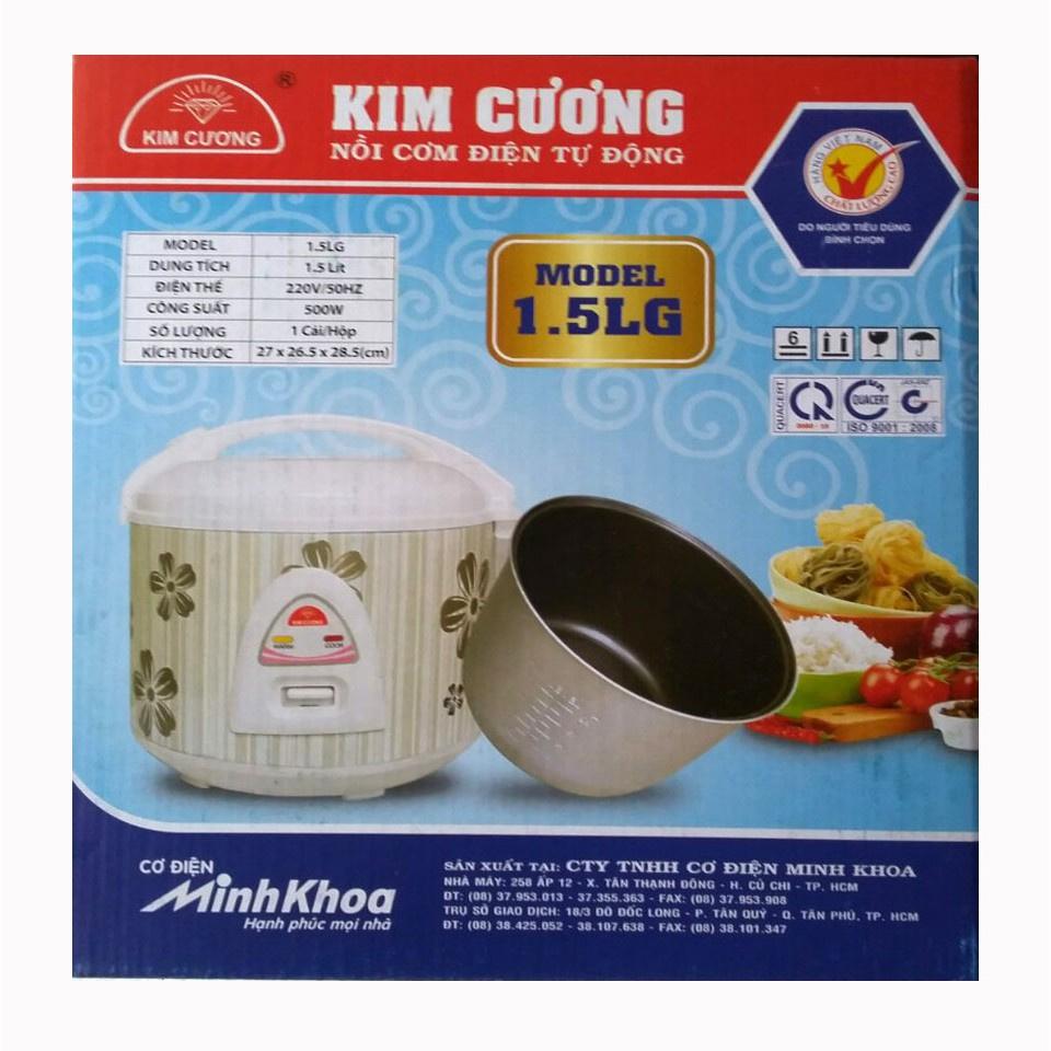 Nồi Cơm Kim Cương 1.5LG Việt Nam GIÁ SỈ SIÊU RẺ