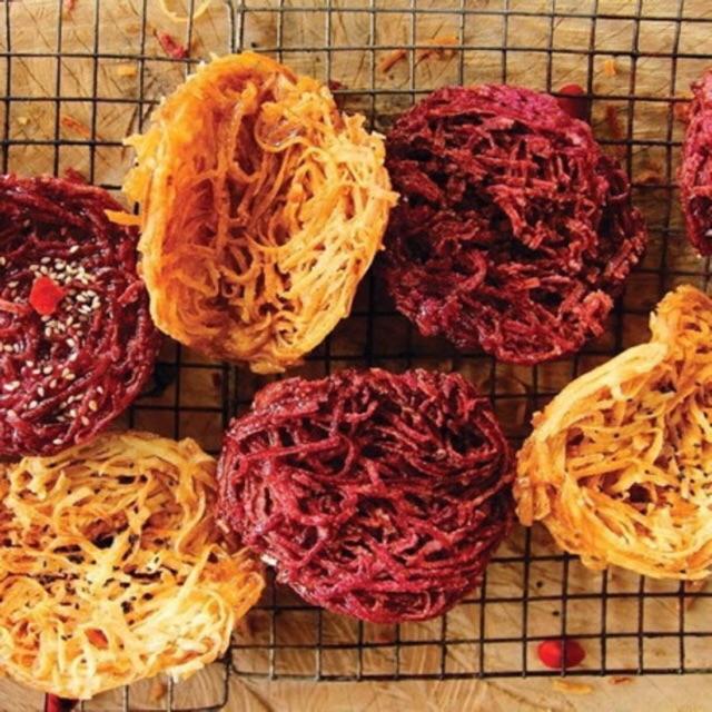 6 gói Bánh rế Vàng Hoàng Lam đặc sản nổi tiếng Phan Thiết