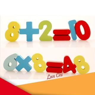 Bộ chữ số học toán cho bé yêu giá rẻ [SIÊU RẺ – SIÊU CHẤT LƯỢNG]