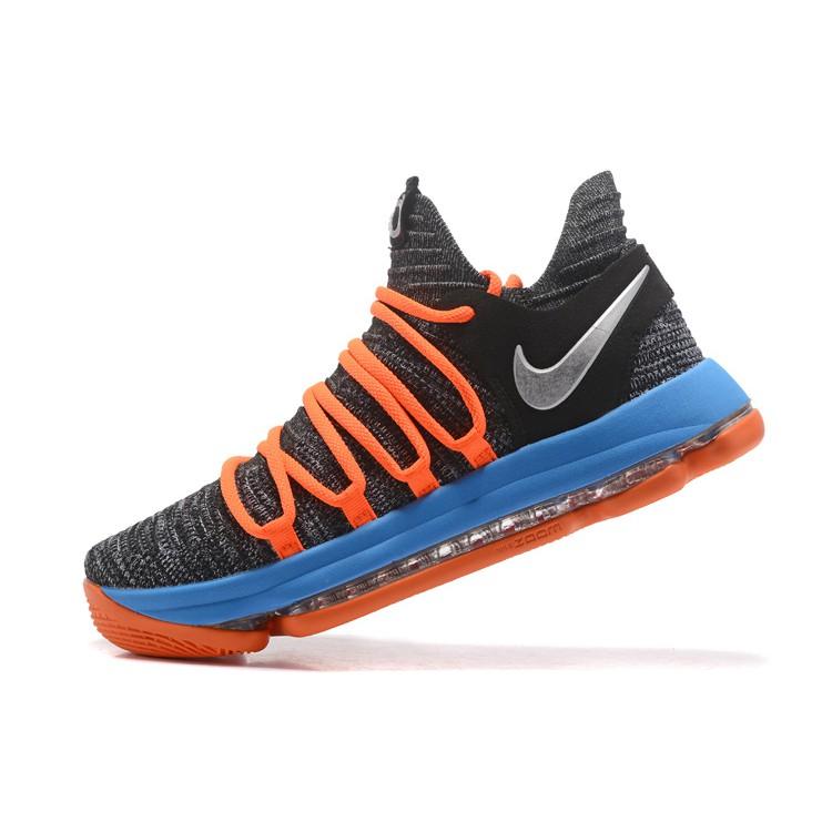 รองเท้าผ้าใบ Nike Zoom KD 10 สำหรับผู้ชายสีเทา