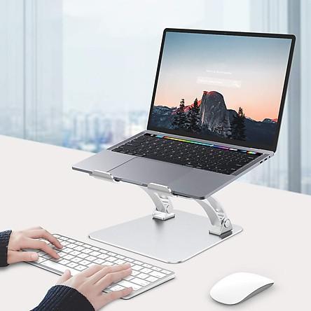 Giá Đỡ Máy Tính, Laptop, iPad, Macbook Hợp Kim Nhôm Cao Cấp. Hỗ Trợ Tản Nhiệt Chống Mỏi Cổ, Vai, Gáy