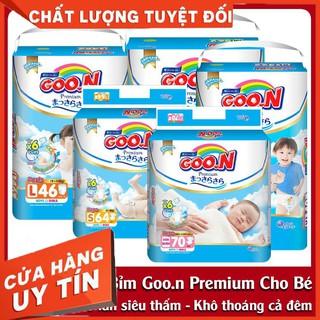 Tã Bỉm Goon Premium Dán Quần size NB70 - S64 - M60 - L50 - M56 - L46 - XL42