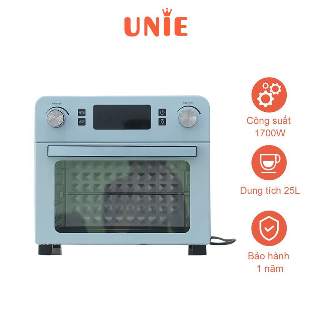 Lò nướng kiêm nồi chiên không dầu UNIE Q36 1700W, dung tích 25L - Tiện lợi, dễ sử dụng