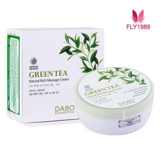 Kem Mát Xa Trà Xanh DABO Natural Rich Massage Cream Green Tea thumbnail
