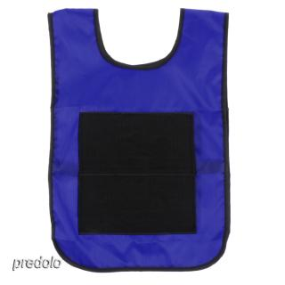 Blue Vest for Kids Toddlers Sticky Ball Catch Game Cloth