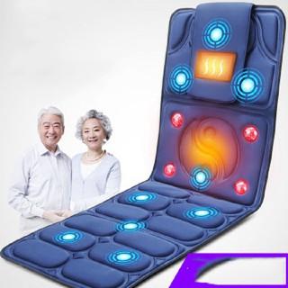 (XẢ) Đệm massage toàn thân giúp thư giãn có điều khiển điều chỉnh tốc độ, đệm mát xa cao cấp có thể nằm và ngồi