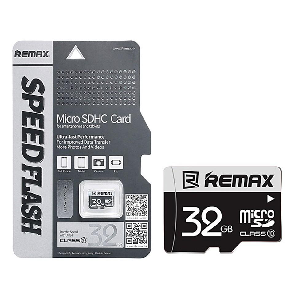 Combo 5 Thẻ nhớ MicroSD Class 10 Remax 32GB 73MB/s - Hàng chính hãng