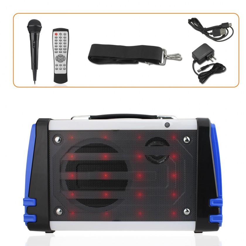 Loa bluetooth karaoke K51L kèm micro có đèn led - 2944151 , 1204921466 , 322_1204921466 , 1400000 , Loa-bluetooth-karaoke-K51L-kem-micro-co-den-led-322_1204921466 , shopee.vn , Loa bluetooth karaoke K51L kèm micro có đèn led
