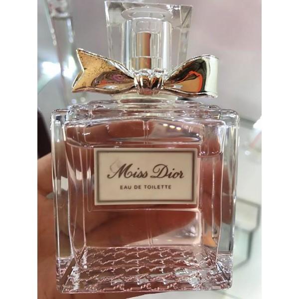Nước hoa Miss Dior 100ml edt không hộp như hình