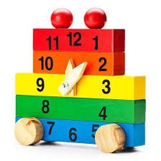 Đồng hồ học số lắp ráp
