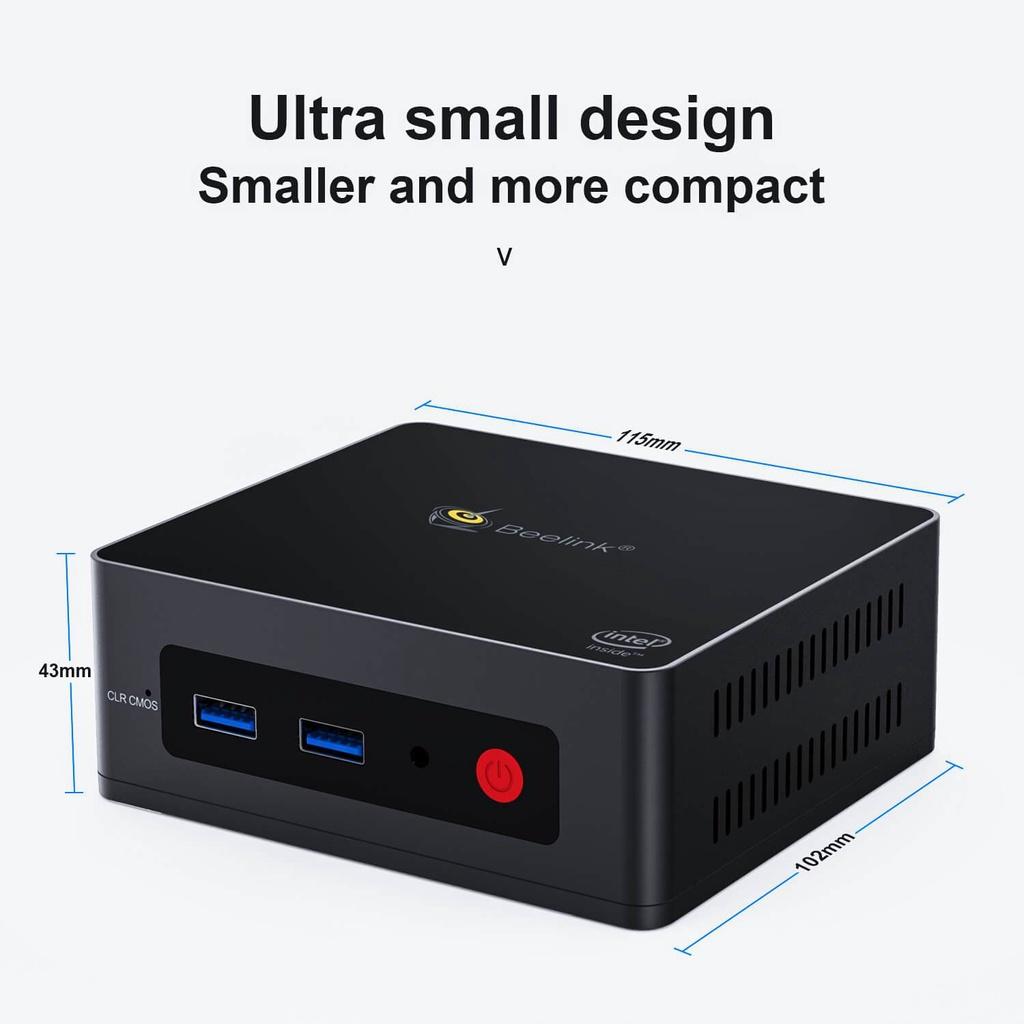 Beelink GK Mini máy tính nhỏ gọn hiệu năng cao