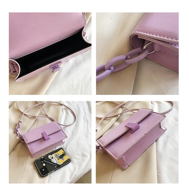 Túi xách nữ LOKADO cỡ nhỏ túi đeo chéo nữ nhỏ xinh-Hy139