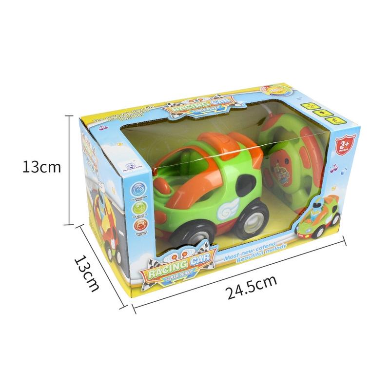 MoFun 508A Điều khiển từ xa không dây cho trẻ em Đồ chơi Xe hơi Âm nhạc Động cơ Phim...
