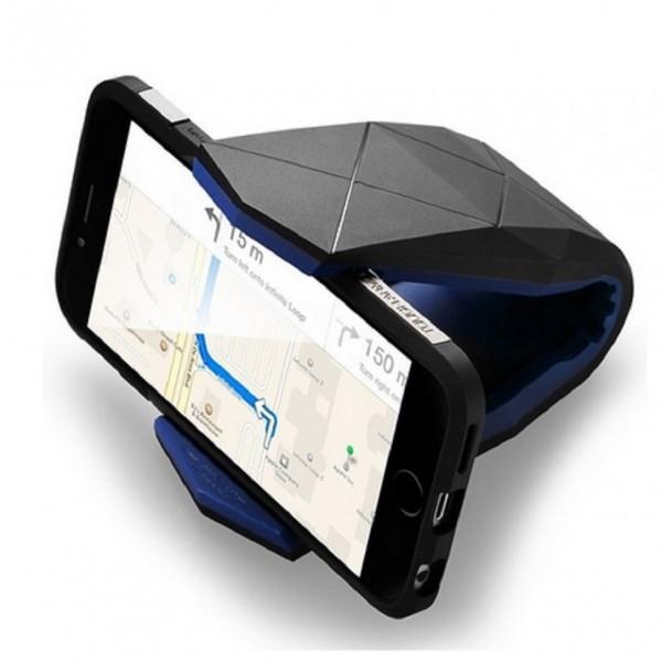 Giá đỡ điện thoại KS-01 trên ô tô làm bản đồ và camera hành trình.