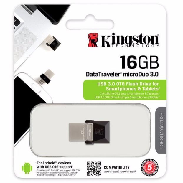 Kingston 16GB DataTraveler MicroDuo 3.0