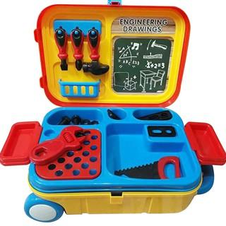 Bộ dụng cụ kỹ sư kết hợp vali kéo cho bé (Enfa)