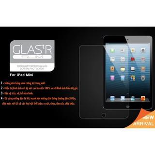 Kính cường lực Glass cho iPad mini 1/2/3 (Trong suốt)
