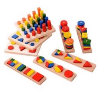 Bộ giáo cụ Montessori 8 món