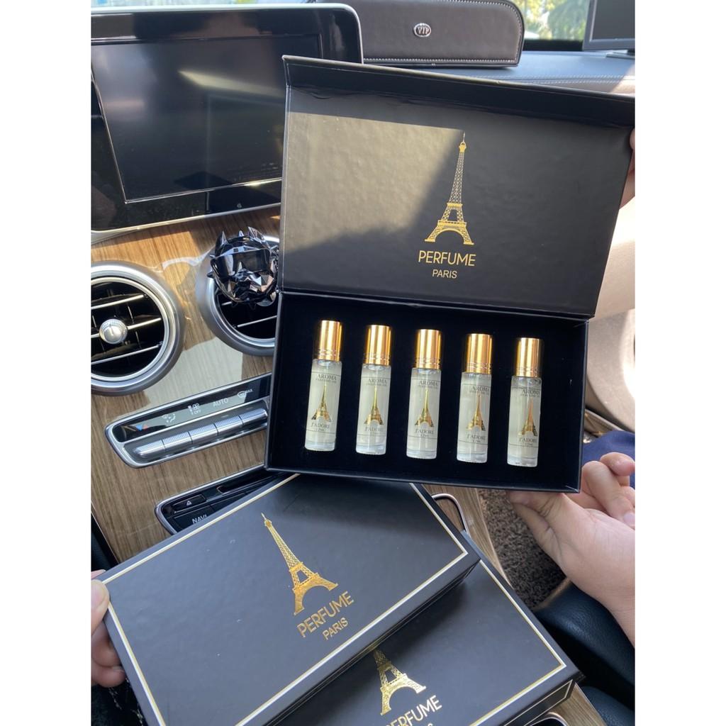 [ MẪU MỚI ] Set nước hoa Pháp Aroma 2021 lưu hương 12 tiếng trên cơ thể, 1 - 2 ngày trên quần áo