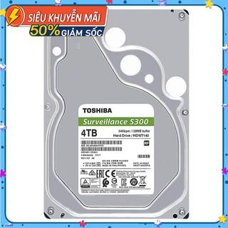 Ổ cứng HDD chuyên dụng 1TB 2TB 4TB TOSHIBA Surveillance S300 thumbnail