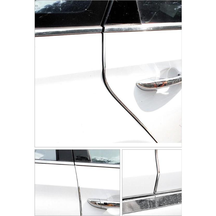 Dây Nhựa dán cửa chống va chạm ô tô (10m trong suốt)