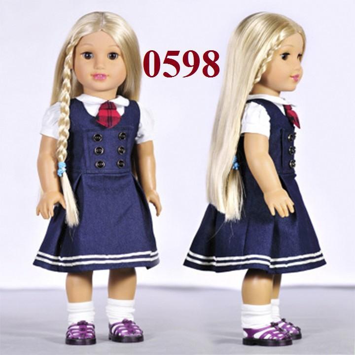 Bộ quần áo cho búp bê 46cm = 18 inch - 3523135 , 858989199 , 322_858989199 , 39999 , Bo-quan-ao-cho-bup-be-46cm-18-inch-322_858989199 , shopee.vn , Bộ quần áo cho búp bê 46cm = 18 inch