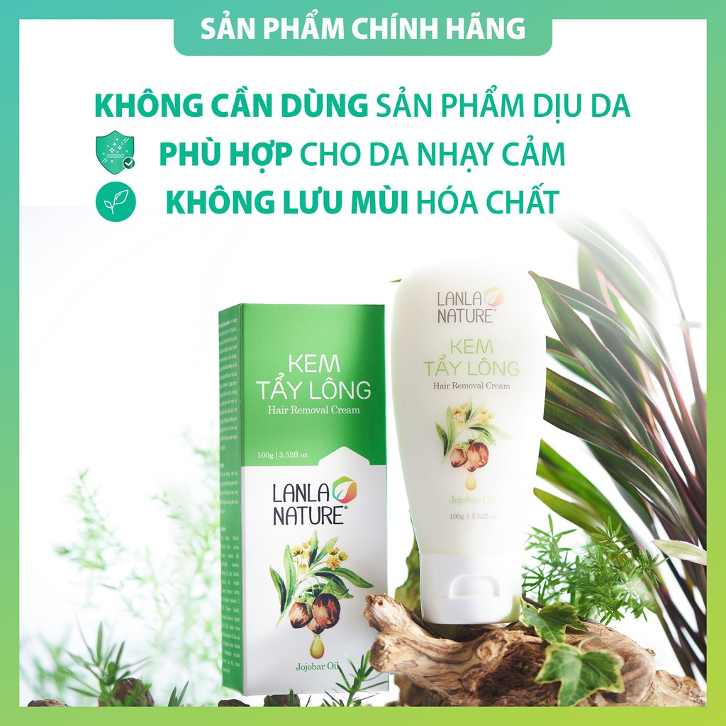 Kem Tẩy Lông Lanla Nature (Hộp 100g)