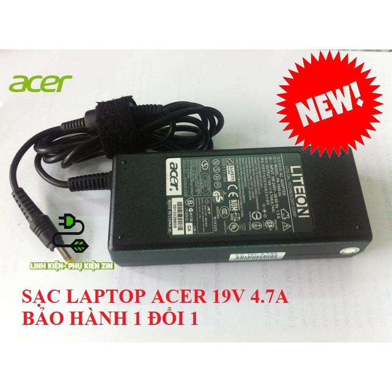 SẠC LAPTOP ACER 19V-4.7A BH 1 ĐỔI 1 (ADAPTER ACER 19V-4.7A) Giá chỉ 115.000₫