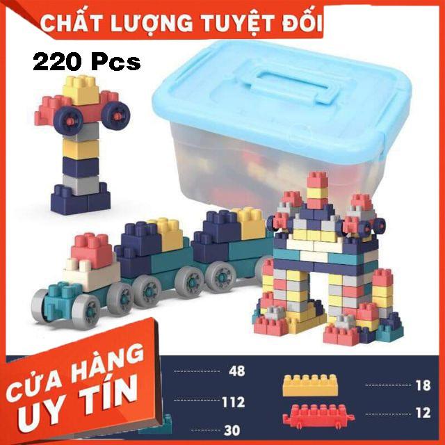 Bộ Lắp Ghép, Bộ Xếp Hình Lego Bộ Ghép Hình, dành cho bé phát triển trí não giúp bé thoải mái tư duy sáng tạo
