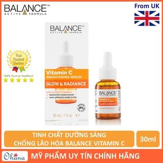 Tinh Châ t Dưỡng Sáng, Chô ng La o Ho a Balance Vitamin C 30ml (Serum Vitamin C Công Thức Mới Màu Vàng Đục) thumbnail