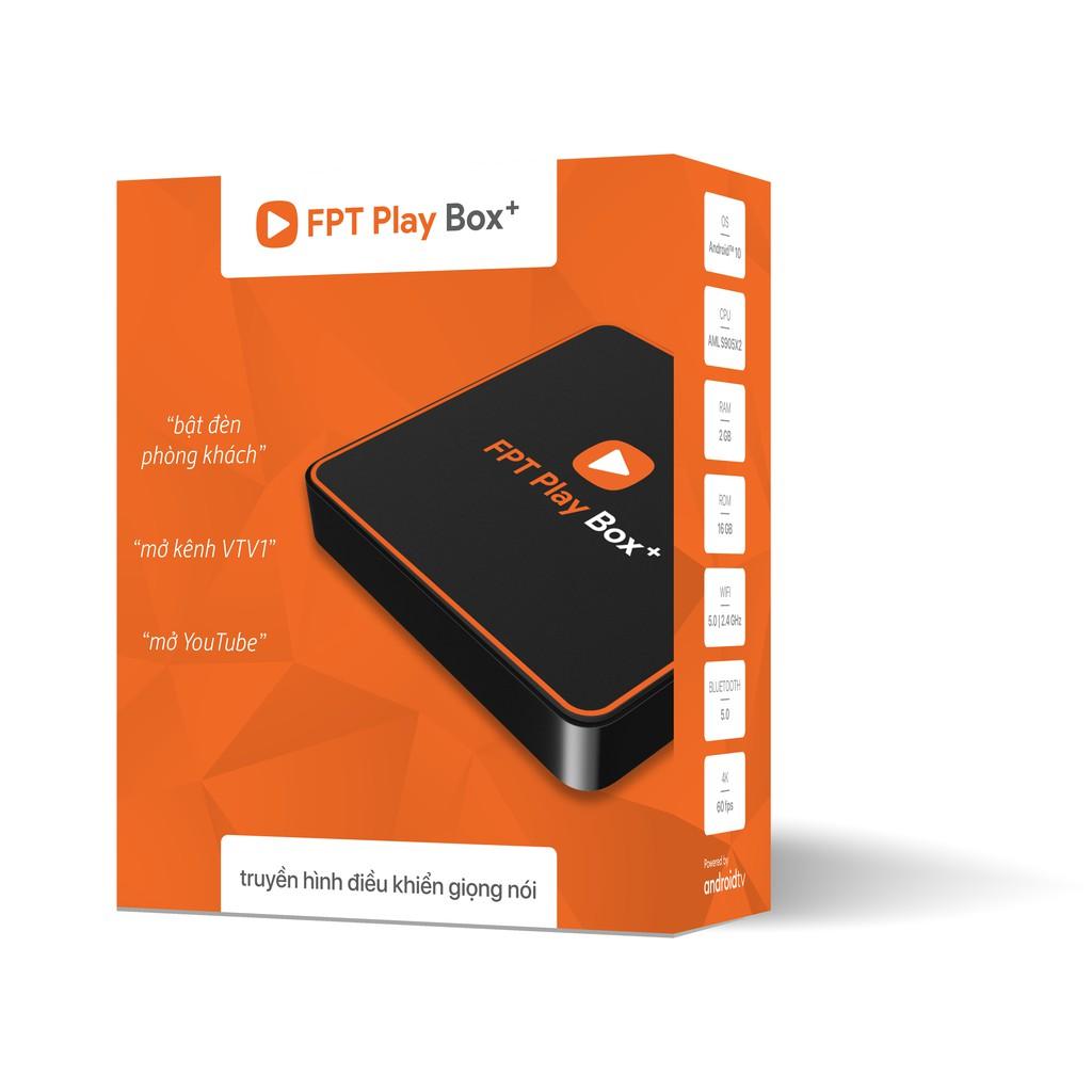 FPT Play Box+ 2020 (Model 550) Phiên Bản Android TV 10 - Hàng Chính Hãng