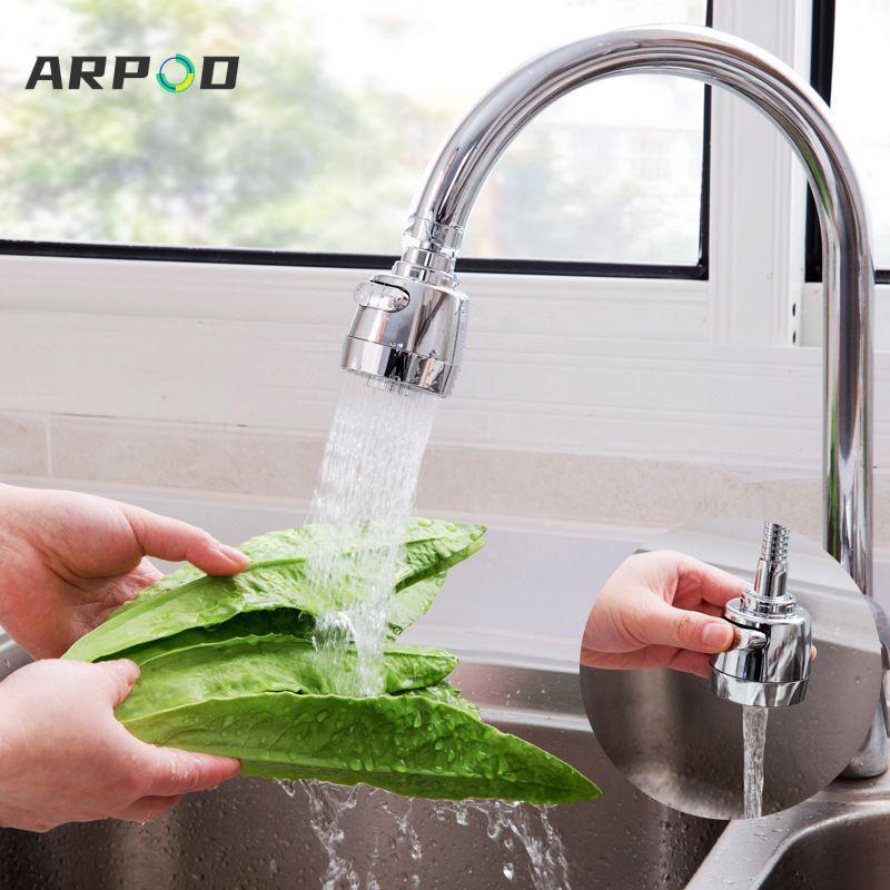 Kitchen household tap faucet shower head Rotating splash splash water saving device ARPOD