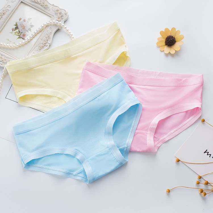 Bộ 05 quần lót nữ cotton chất mát,mềm mịn (Mẫu 07)