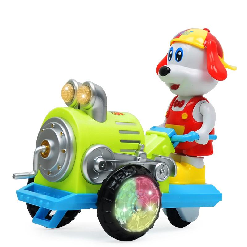Cartoon Electric Toy Electric Light Music Dancing Puppy toy