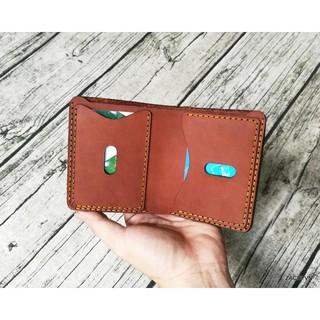 Bóp ví nam, ví nam mẫu đứng mini da bò handmade – Zachi ví tiền bóp đựng tiền