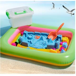 Bộ đồ chơi cát động lực vi sinh cho bé