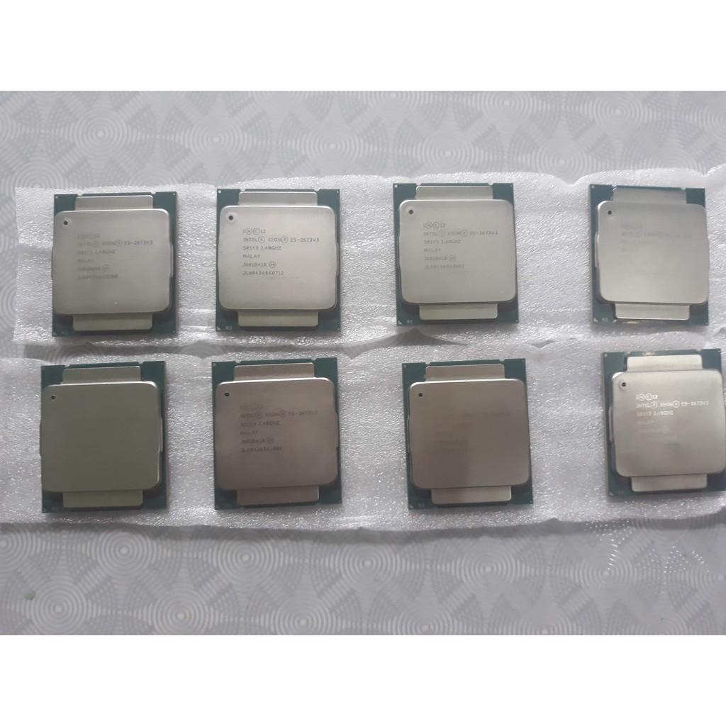 CPU Xeon E5-2678 v3 giá rẻ nhất shopee chạy main X99 dùng render, giả lập nox , ldplayer