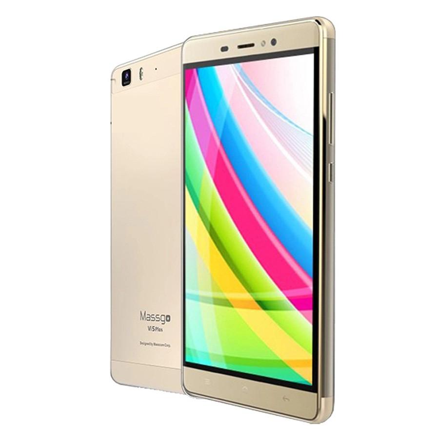 Massgo Vi5 Plus 16GB 2 Sim (Vàng Đồng)