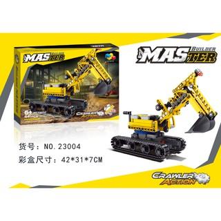 Bộ Lego Master Builder_2304 Cần cẩu máy múc cát .(hàng luôn có sẵn)