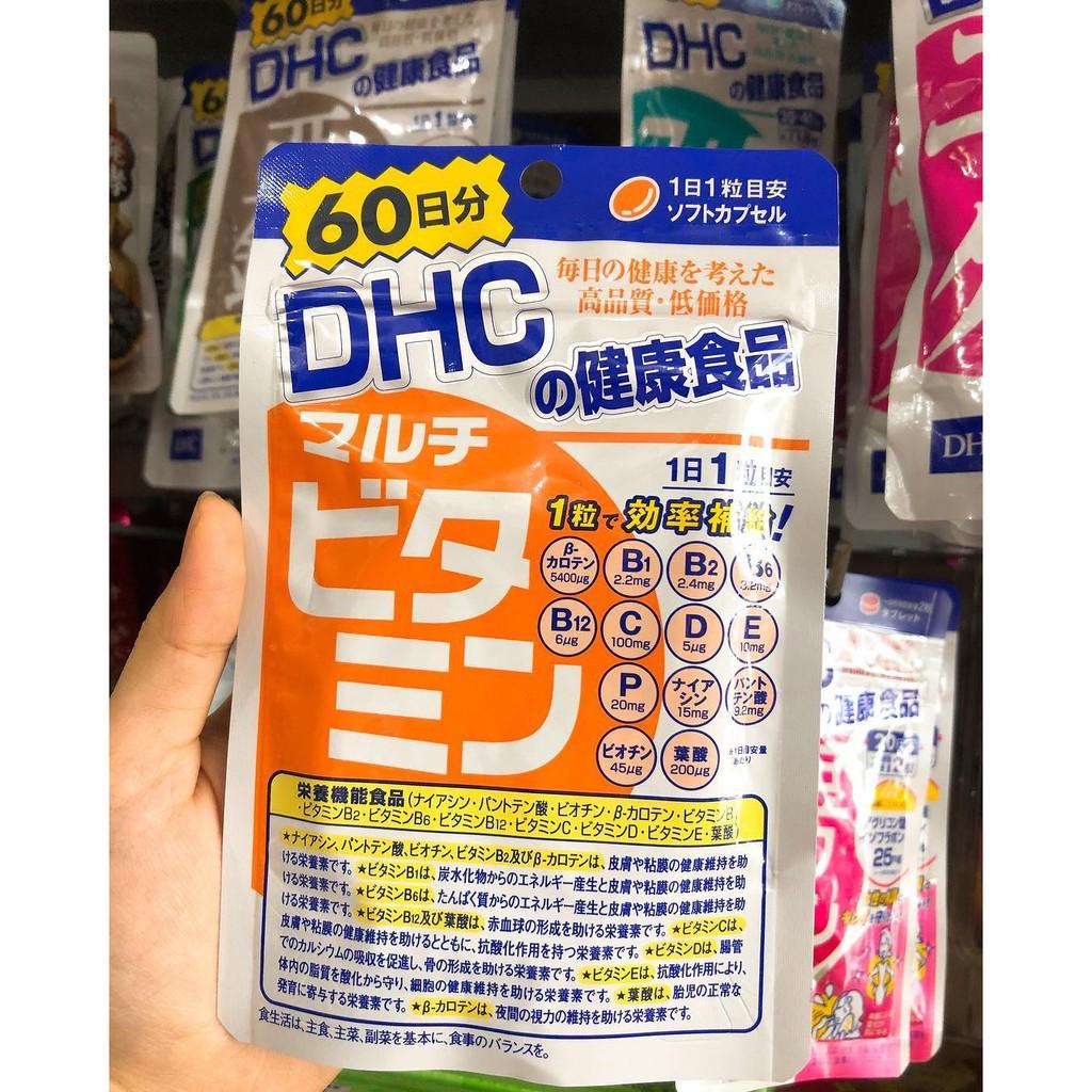 Viên Uống DHC vitamin tổng hợp 60 ngày