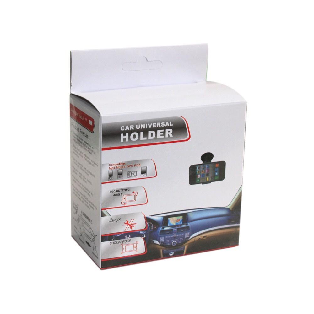 Giá đỡ kẹp điện thoại xoay 360 độ cho xe ô tô có hộp đựng